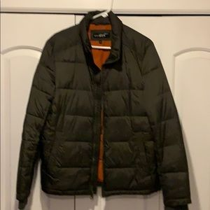 Wilson Leather Puffer Jacket